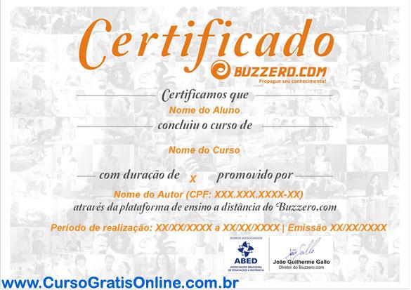 Certificado Buzzero