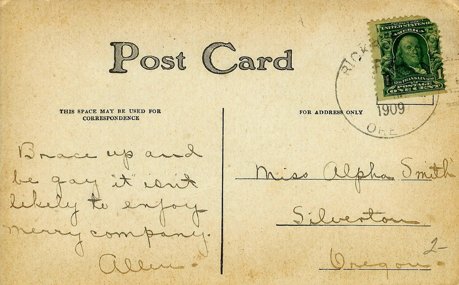 old postcard by rjdezigns - photo #8
