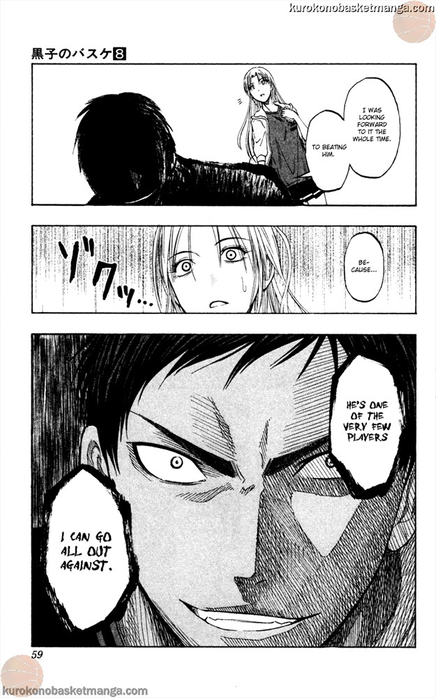 Kuroko no Basket Manga Chapter 63 - Image 13