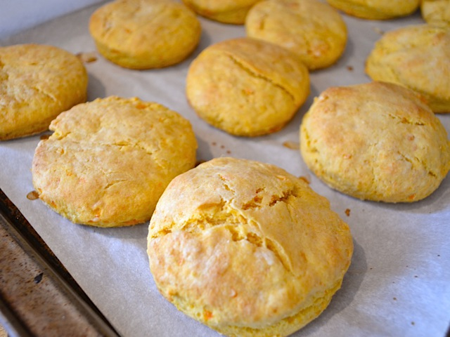 baked sweet potato biscuits