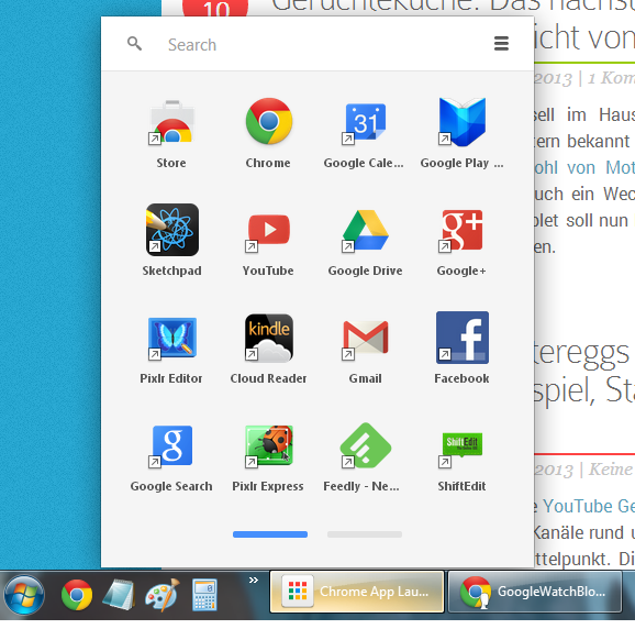Chrome Launcher