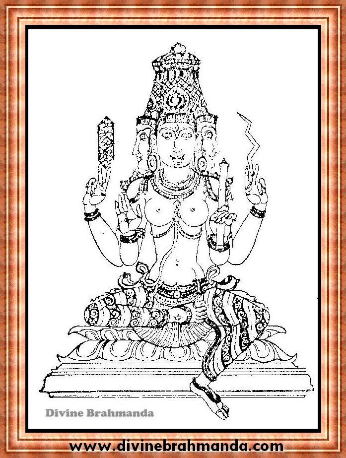 Soundarya Lahari Sloka, Yantra & Goddess To Get Control Over Sense Organs - 30