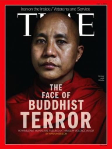 Tuần báo Time bị phản đối vì liên kết Phật Giáo với khủng bố