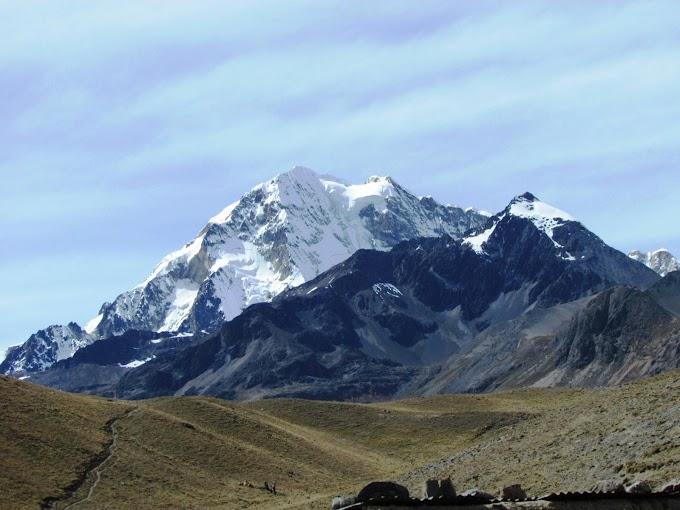 Fotos del nevado Huayna Potosí en La Paz