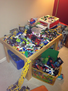 LEGO Table & Bins