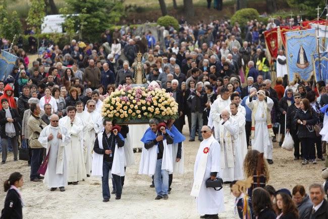Peregrinação Anual a Nossa Senhora da Lapa - 10 de Junho - 2014