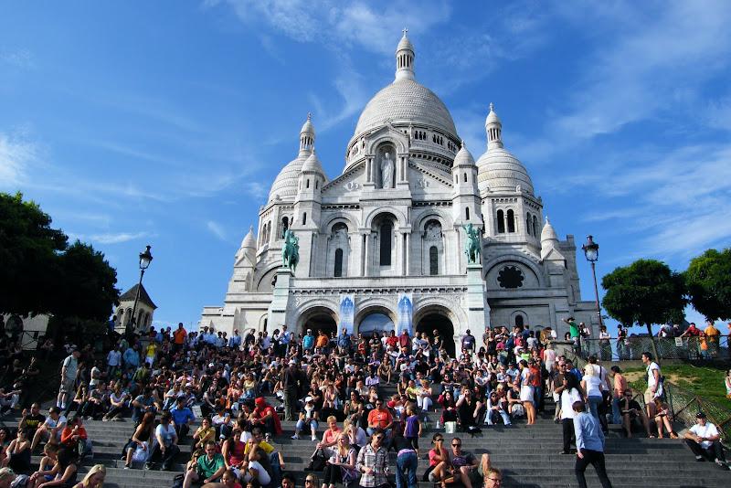 Qué ver en París en un fin de semana; basíllica del Sagrado Corazón
