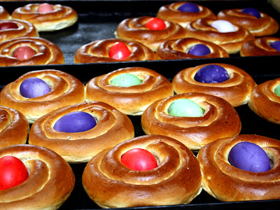 Easter pastries in Jerusalem Israel