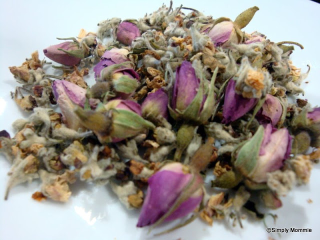 purple rose tea