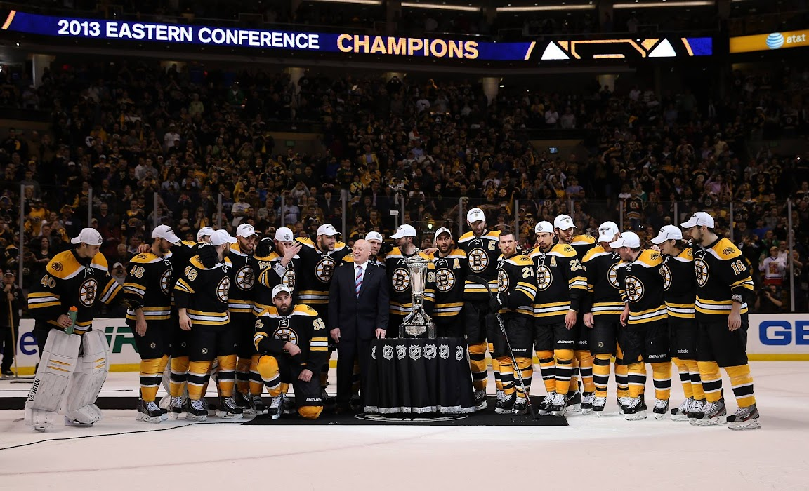 Boston Bruins Eastern Conference Champions