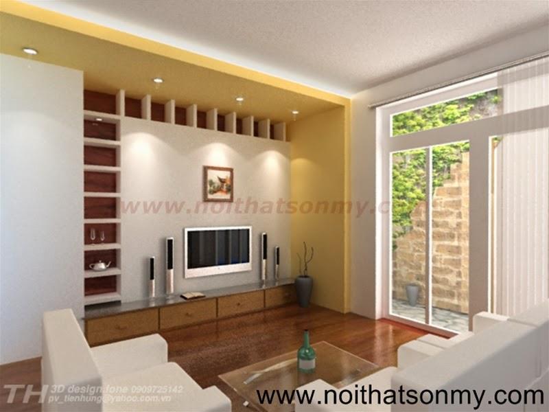 Mẫu thiết kế nội thất phòng khách 319