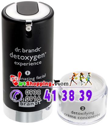 mỹ phẩm dưỡng da, sản phẩm dưỡng da, kem dưỡng da, làm đẹp da, chăm sóc da, chăm sóc da đúng cách, chăm sóc da chuyên nghiệp, bộ sản phẩm chăm sóc da, Detoxygen Experience Dr. Brandt, Bộ Chăm Sóc Giải Độc Cho Da
