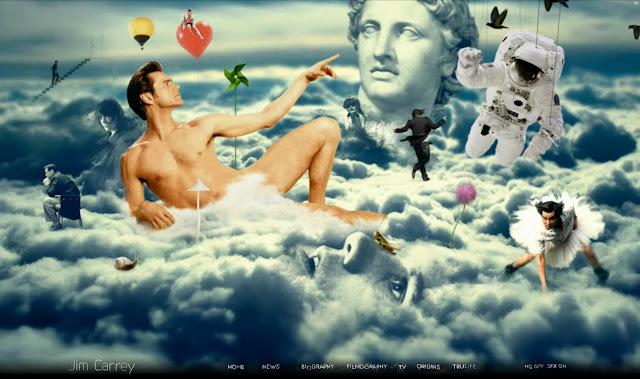 *讓我們來一窺金凱瑞的奇妙世界吧!|Jim Carrey - Official Web Site 10