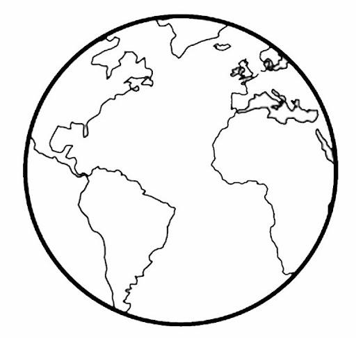 MAPAS DEL MUNDO: MAPAS PARA COLOREAR