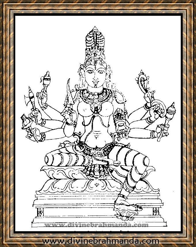Soundarya Lahari Sloka, Yantra & Goddess For Cure From All Types of Poisons - 20
