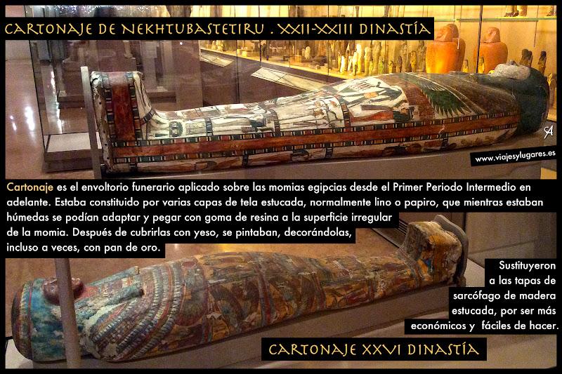Sarcófago de Nekhtubastetiru. Cultura egípcia