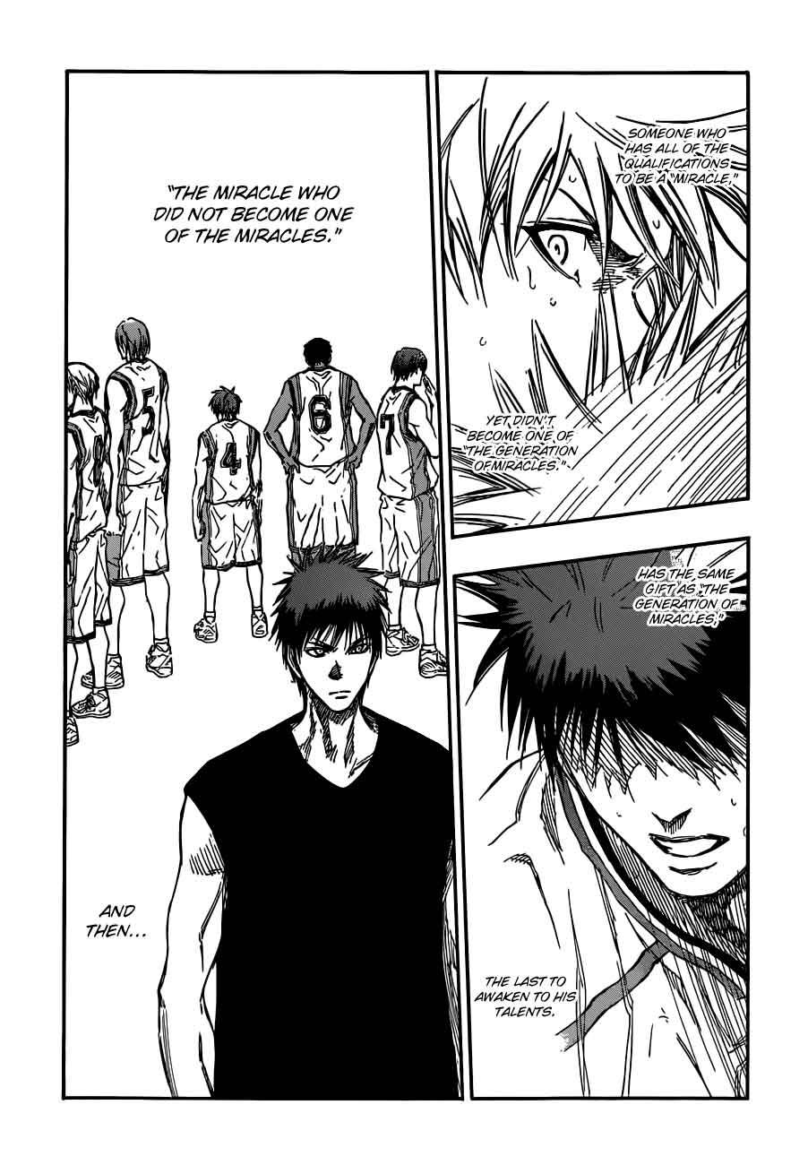 Kuroko no Basket Manga Chapter 189 - Image 17