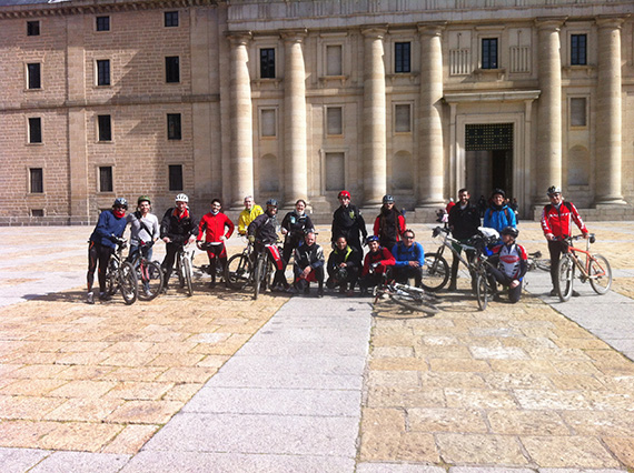 Así fue nuestra ruta de Madrid a El Escorial, sábado 2 de marzo de 2013