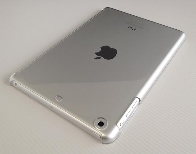 バッファロー iPad mini用シェルケース「BSIPD712CHCR」をiPad miniに取り付けたところ