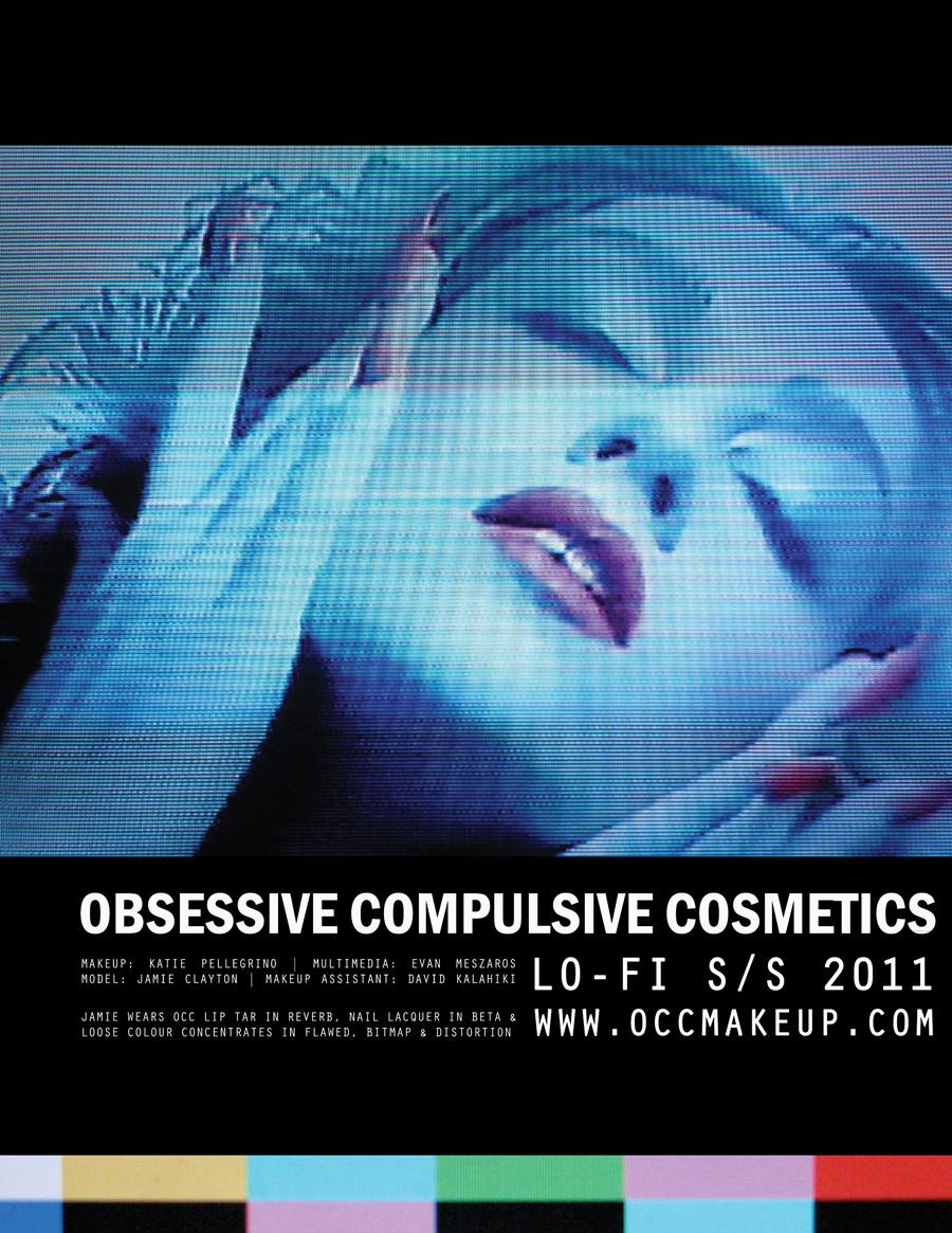 Obsessive Compulsive Cosmetics: LO-FI AD CAMPAIGN