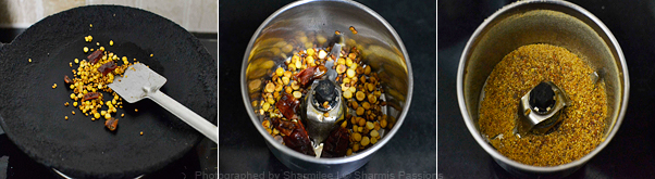 How to make black chana sundal - Step1