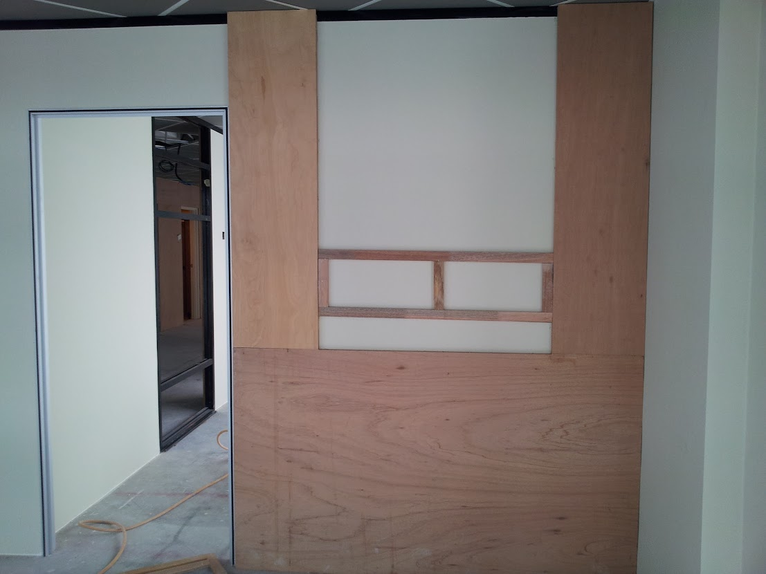 wooden frame for wall panel