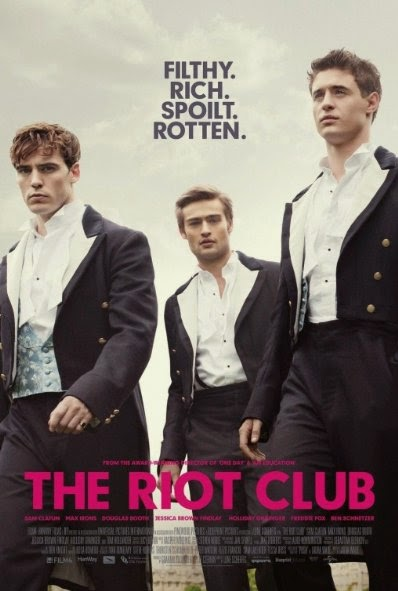Poster Of English Movie The Riot Club (2014) Free Download Full New Hollywood Movie Watch Online At alldownloads4u.com
