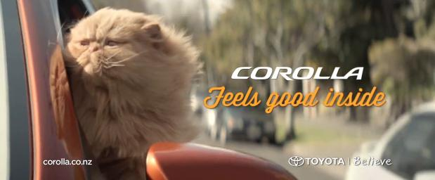 "The Greatest Cat You'll Ever See | ""Just Feels Inside"" Toyota Commercial"