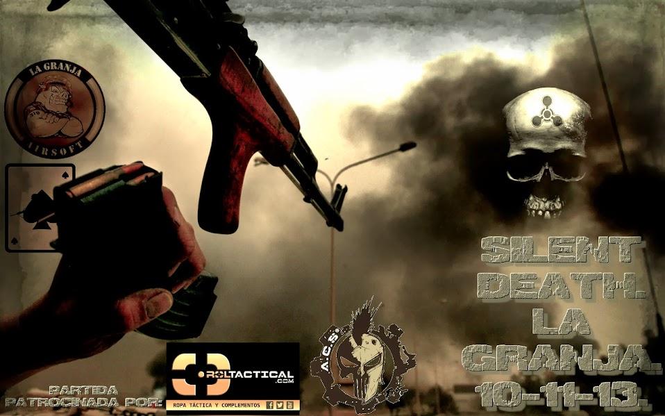 SILENT DEATH. LA GRANJA. Partida abierta.10-11-13 Silent+Death+fecha+Juila+Blacktwo