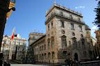 Foto de la Torre copia de 1952 del original que da a la plaza de la Virgen