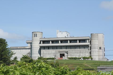JR北海道 「リバイバルまりも」 車窓 池田ワイン城