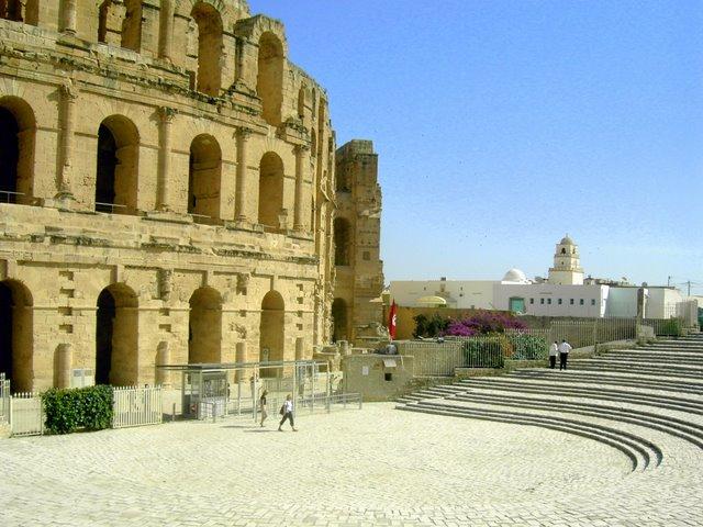 Амфитеатр в Эль-Джем
