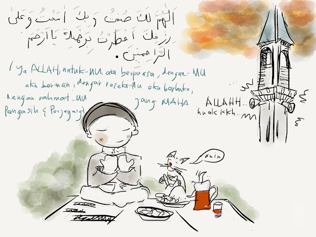 Ipad Paper Sketch Doa Buka Puasa