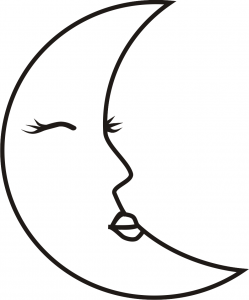 Riscos de Lua - lua feminina