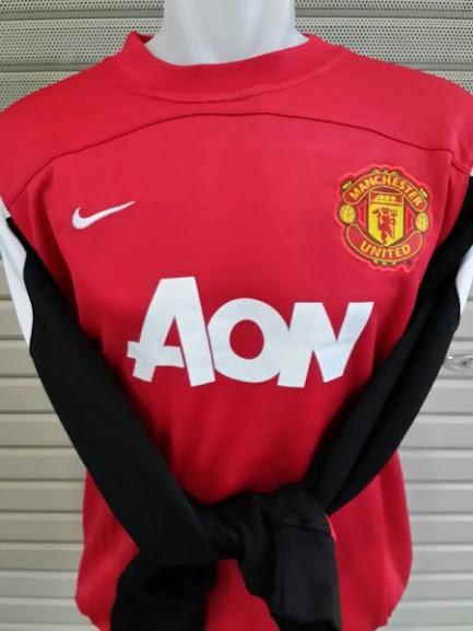 Jual Sweater Manchester United Merah AON 2014