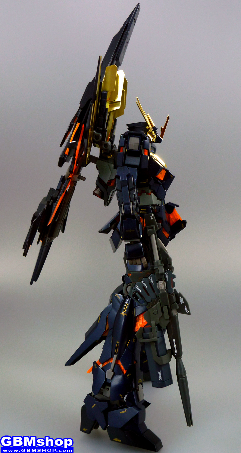 Gundam Fix Figuration METAL COMPOSITE #1011 RX-0 Unicorn Gundam 02 Banshee + Bandai 1/100 MG RX-0[N] Unicorn Gundam 02 Banshee Norn Full Armed Banshee