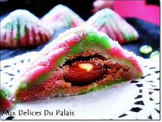 harissa tricolore,un gâteau sans cuisson