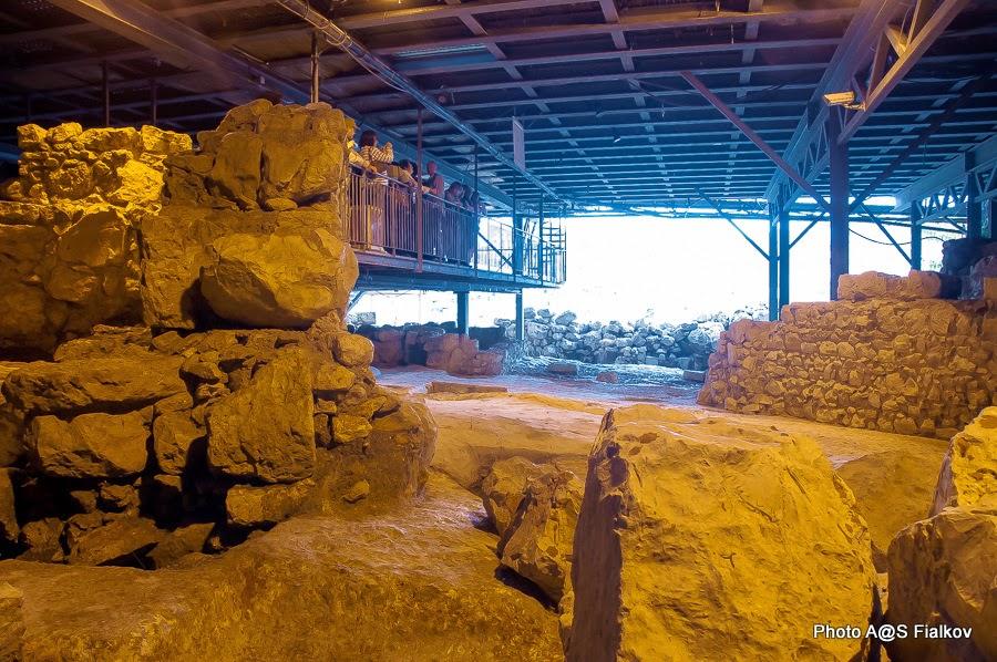 Археологические раскопки дворца царя Давида в городе Давида в Иерусалиме. Экскурсия в Иерусалиме Светланы Фиалковой.