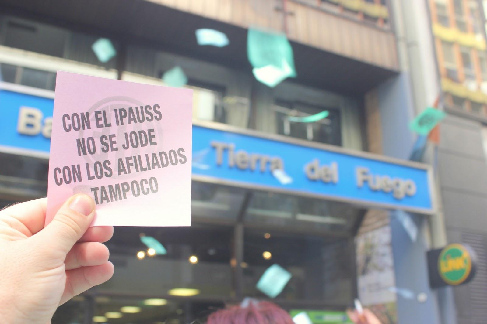 Movilizacion en Casa TDF por IPAUSS