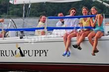 J/105 women sailing crew