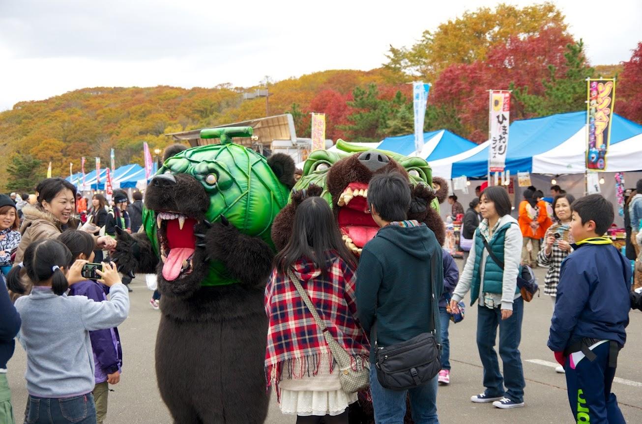 メロン熊(夕張市)