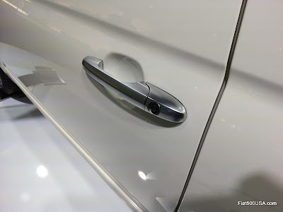 Fiat 500 by Gucci door handle