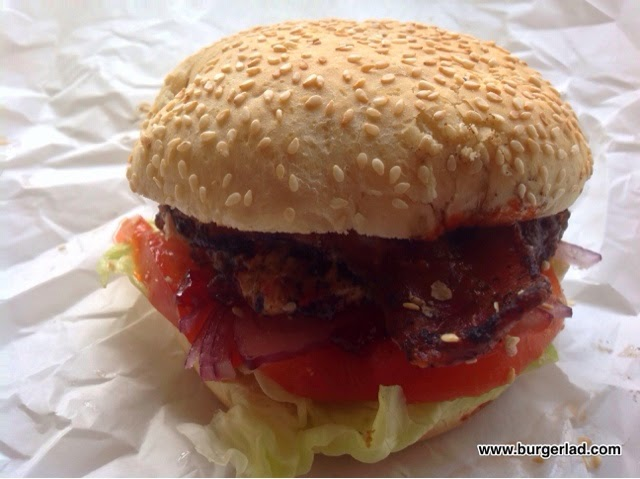Real Burger 6oz Peanut Butter and Jelly Burger
