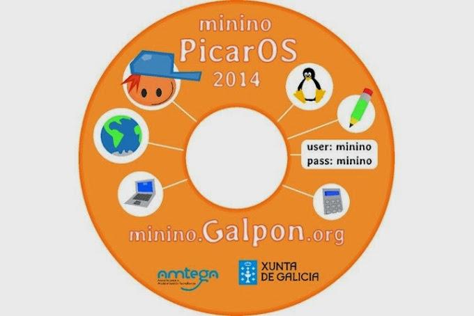 GALPon MiniNo PicarOS 2014, distro gallega para niños