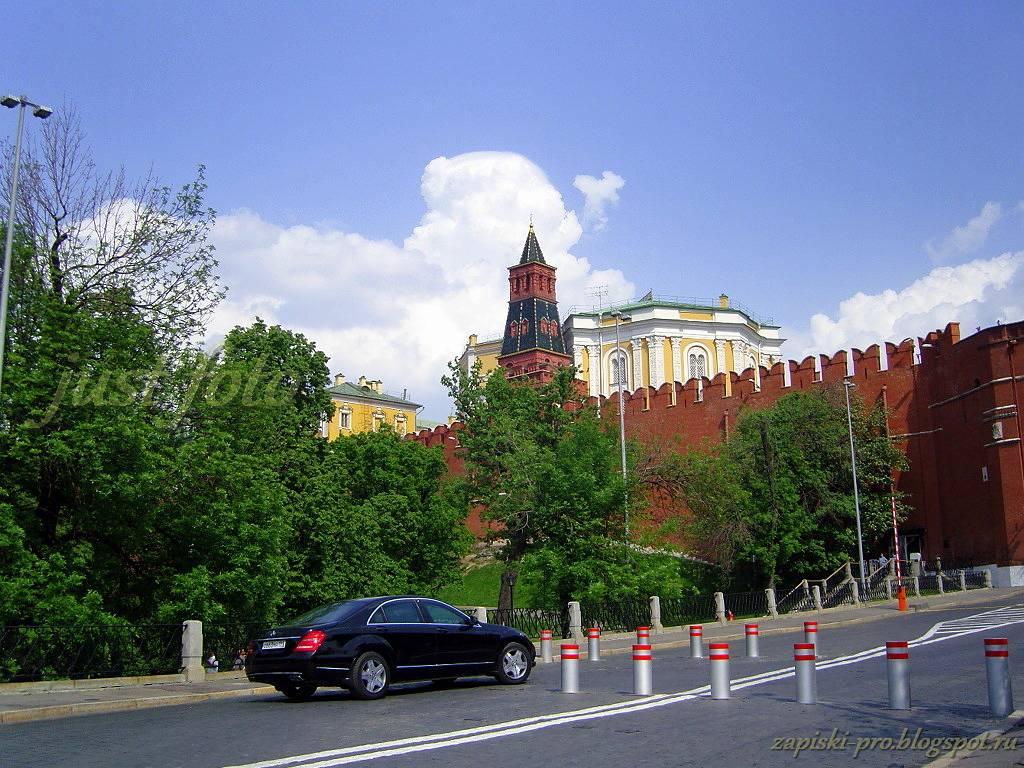 Не московская Москва Кремль