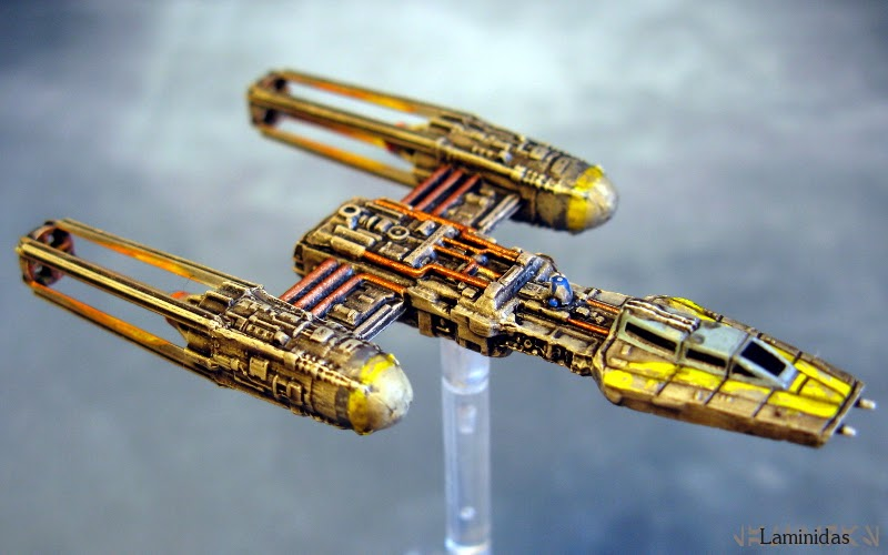 Laminidas' farbige Werften 140228+X-Wing+-+Y-Wing+2