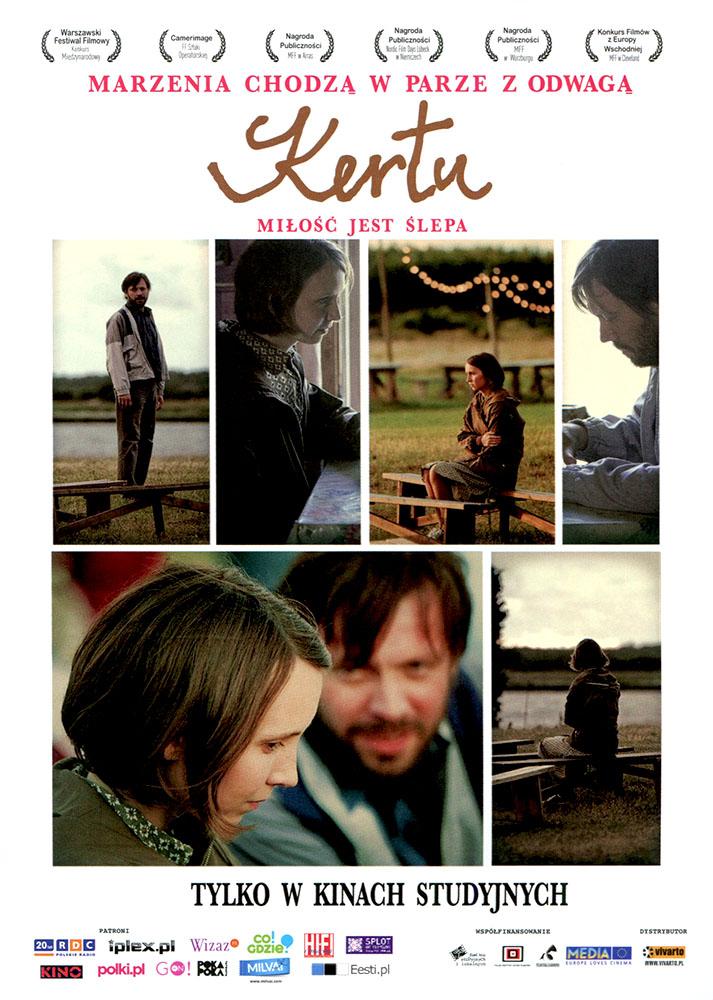 Ulotka filmu 'Kertu. Miłość Jest Ślepa (przód)'
