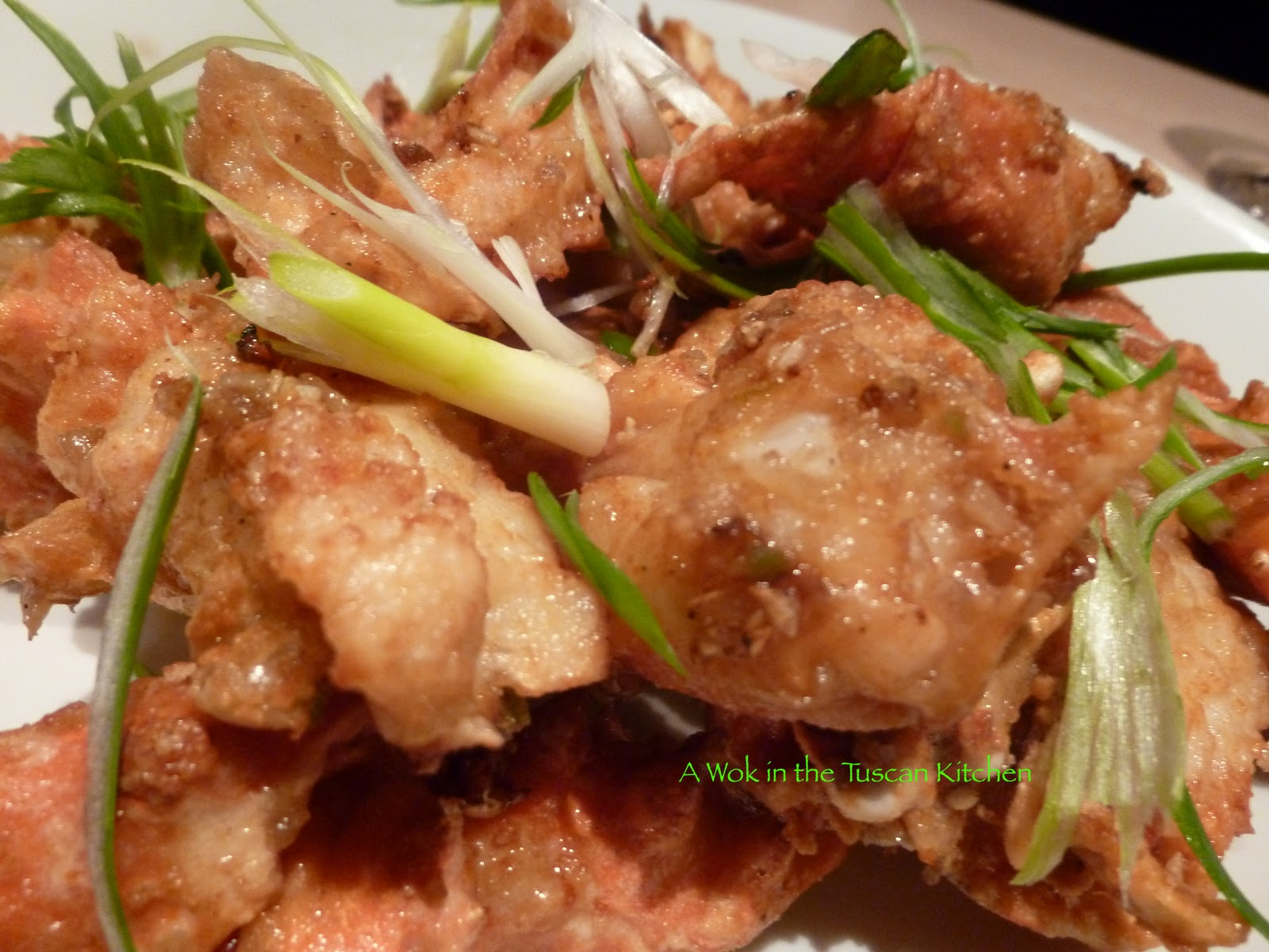 Crab recipe deep fried asian style
