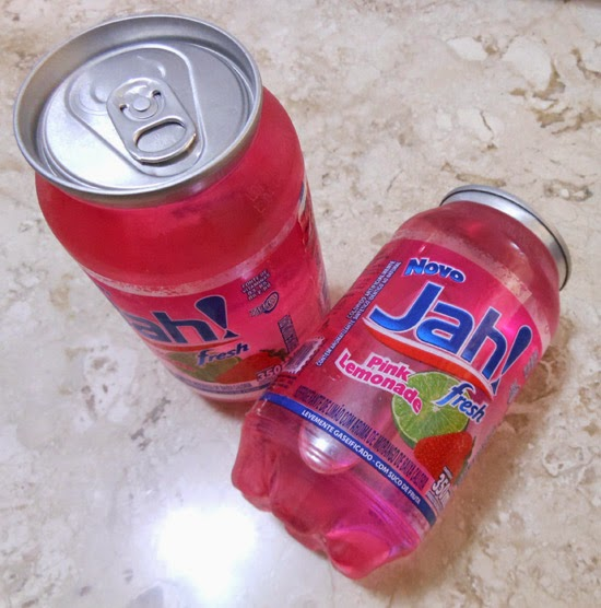 Refrigerante cor de rosa: Pink Lemonade Jah!