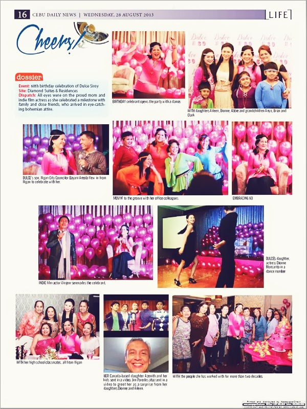 And Yes There Was Dancing Conversations Laughter Photo Ops After The Program CDN Published Moms Birthday Celebration